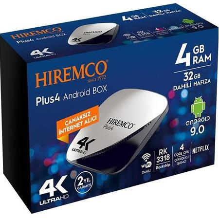 Hiremco Plus 4 Android Box