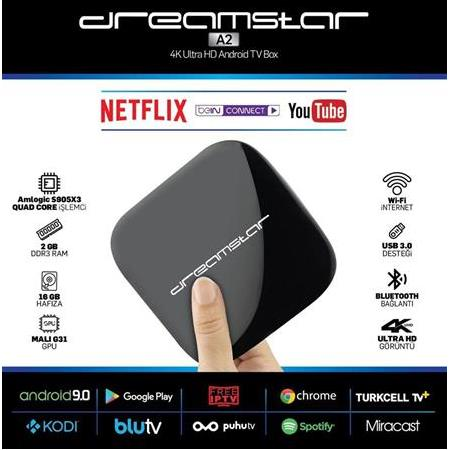 Dreamstar A2 Android Tv Box