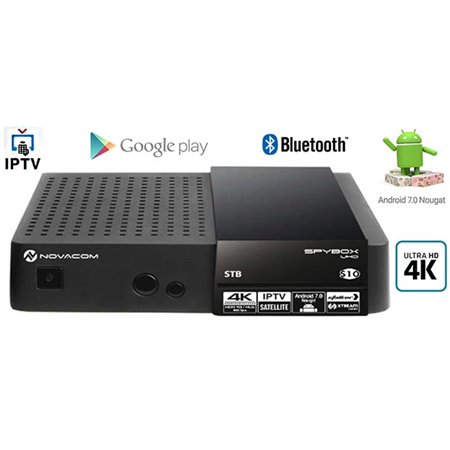 Novacom Spybox S10 UHD/4K Android Set Top Box