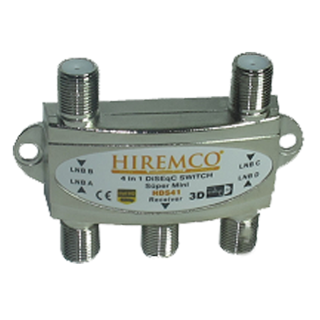 Hiremco HDS41 DiseqC Switch