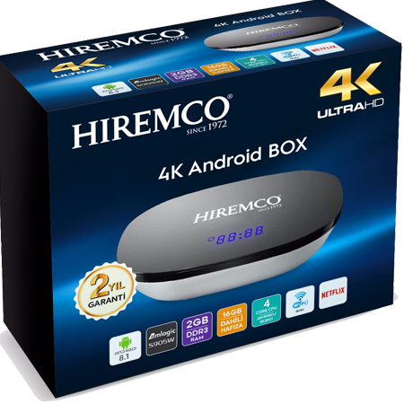 Hiremco Smart 2 Android Box